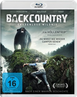 "Das Blu-ray-Cover von ""Backcountry"" (©Pandastorm Pictures)"