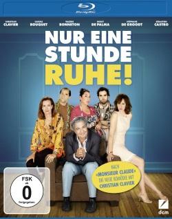 """Das Blu-ray-Cover von """"Nur eine Stunde Ruhe"""" (© DCM)"""