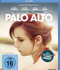 "Das Blu-ray-Cover von ""Palo Alto"" (© Capelight Pictures)"
