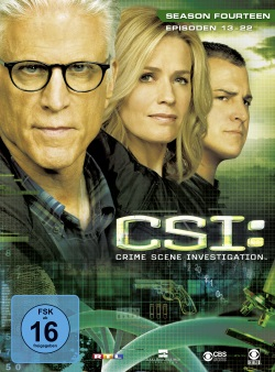"Das Cover zu ""CSI: Vegas"" Season 14.2 (© Universum Film)"