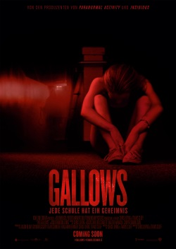 "Das Kino-Plakat von ""The Gallows"" (© Warner Bros Pictures)"