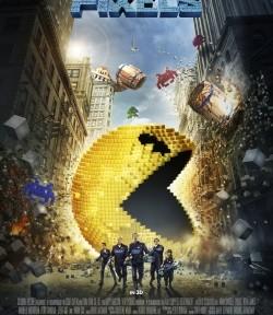 """Das Kino-Plakat von """"Pixels"""" (© Sony Pictures)"""