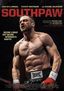 """Das Kino-Plakat von """"Southpaw"""" (©Concorde Film)"""