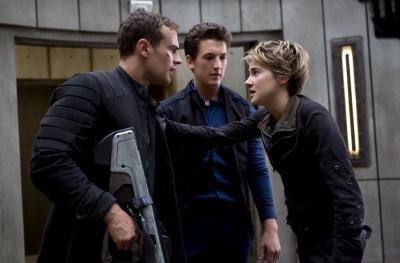 Tris will sich gegen Jeanine zu Wehr setzen (© Concorde Home Entertainment)