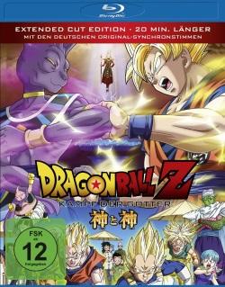 "Das Blu-ray-Cover von ""Dragonball Z - Kampf der Götter"" (© Universum Film)"