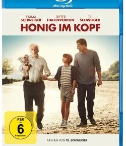 """Das Blu-ray-Cover von """"Honig im Kopf"""" (© Warner Bros Pictures)"""