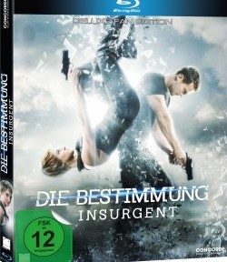 "Das Blu-ray Cover von ""Insurgent - Die Bestimmung"" (© Concorde Home Entertainment)"