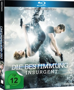 """Das Blu-ray Cover von """"Insurgent - Die Bestimmung"""" (© Concorde Home Entertainment)"""