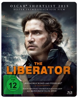 "Das Blu-ray Cover von ""The Liberator"" (© Pandastorm Pictures)"
