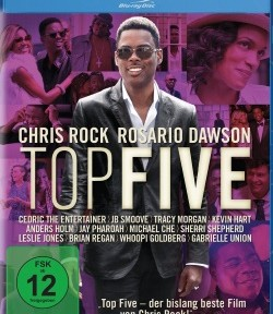 "Das Blu-ray-Cover von ""Top Five"" (© Paramount Pictures)"