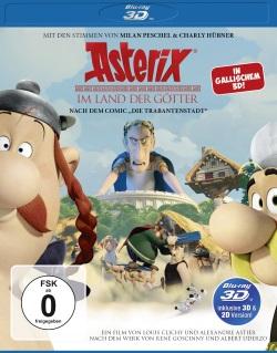 """Das Cover der 3D Blu-ray von """"Asterix im Land der Götter"""""""