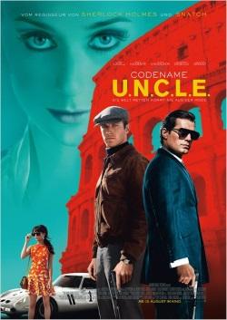 """Das Kino-Plakat von """"Codename U.N.C.L.E."""" (© Warner Bros Pictures)"""