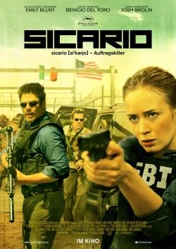 "Das Kinoplakat von ""Sicario"" (© StudioCanal)"