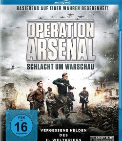 "Das Blu-ray-Cover von ""Operation Arsenal"" (Quelle: Ascot Elite)"