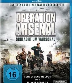 "Das Blu-ray-Cover von ""Operation Arsenal"" (Quelle: Ascot Elite)"