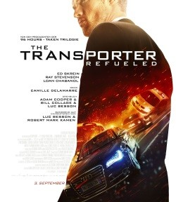 "Das Haupt-Plakat zu ""The Transporter Refueled"" (© Paramount Pictures)"