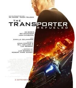 "Das Haupt-Plakat zu ""The Transporter Refueled"" (© Paramount Pictures)"