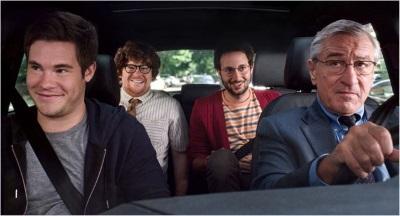 Die Praktikanten-Fahrgemeinschaft (© Warner Bros Pictures)