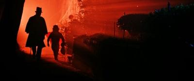 In der Halloween-Nacht sind einige merkwürdige Zeitgenossen unterwegs (© Splendid Film)