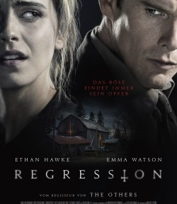 """Das Kino-Plakat von """"Regression"""""""