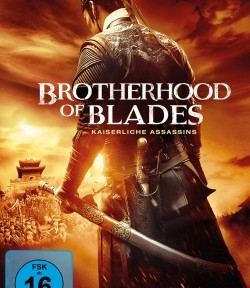 """Das DVD-Cover von """"Brotherhood of Blades"""" (© Pandastorm Pictures)"""