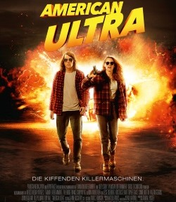 "Das Kino-Plakat von ""American Ultra"" (© Concorde Film)"