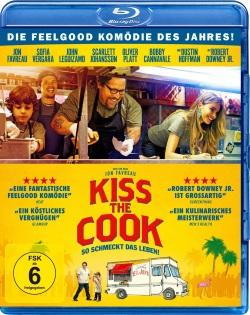 """Das Blu-ray-Cover von """"Kiss the Cook"""""""