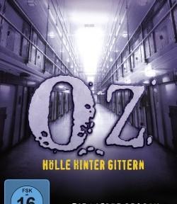 """Das DVD-Cover der vierten Staffel von """"OZ"""" (© Paramount Pictures Home Entertainment)"""