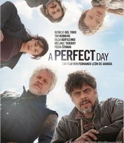 """Das Kino-Plakat von """"A Perfect Day"""" (© X Verleih)"""