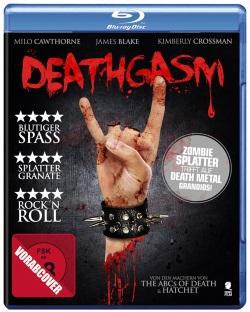 """Das vorläufige Blu-ray-Cover von """"Deathgasm"""" (© Tiberius Film)"""