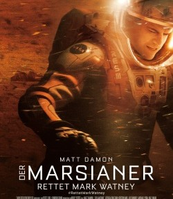"Das Kino-Plakat von ""Der Marsianer - Rettet Mark Watney"" (© 20th Century Fox"