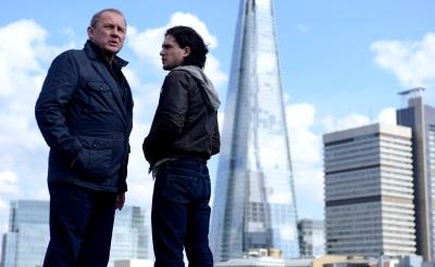 Können Pearce und Holloway einander trauen? (© Universum Film)