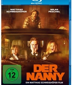 "Das Blu-ray-Cover von ""Der Nanny"" (© Warner Bros Home Entertainment)"