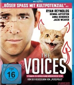 "Das Blu-ray-Cover von ""The Voices"" (© Ascot Elite)"