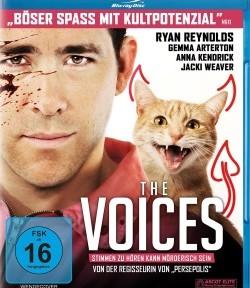 "Das Blu-ray-Cover von ""The Voices"" (© Ascot Elite)"