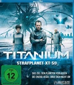 "Das Blu-ray-Cover von ""Titanium – Strafplanet XT59"" (© Ascot Elite)"