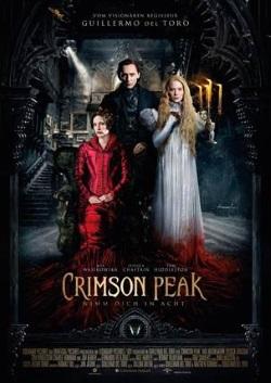 "Das Kino-Plakat von ""Crimson Peak"" (© Universal Pictures)"
