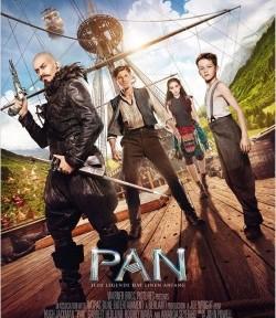 """Das Kino-Plakat von """"Pan"""" (© Warner Bros Pictures)"""