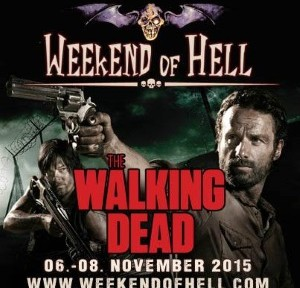 The Walking Dead spielt eine große Rolle auf dem Weekend of Hell (© Weekend of Hell)