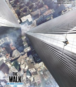 "Das Kino-Plakat von ""The Walk"" (© Sony Pictures Germany)"