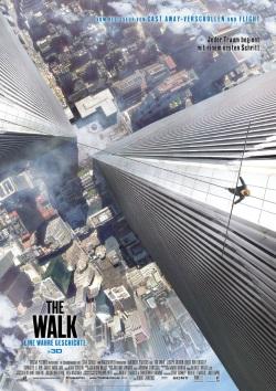 "Das Kino-Plakat von ""The Walk"" (© Sony Pictures Germany)"