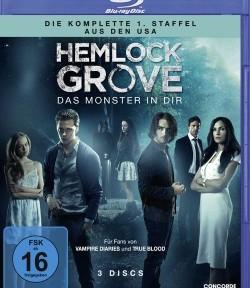 """Das Blu-ray-Cover der ersten Staffel von """"Hemlock Grove"""" (© Concorde Home Entertainment)"""