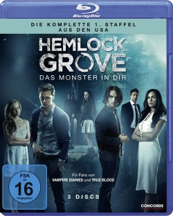 "Das Blu-ray-Cover von ""Hemlock Grove Staffel 1"" (© Concorde Home Entertainment)"