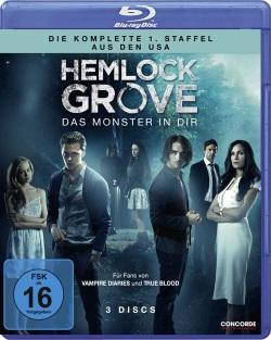 "Das Blu-ray-Cover von ""Hemlock Grove Staffel 1"" (© Concorde Home Entertainment)"