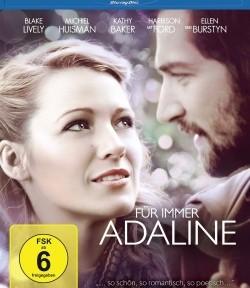 """Das Blu-ray Cover von """"Für immer Adaline"""" (© Universum Film)"""