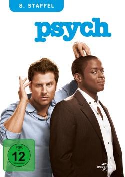 """Das Cover der von """"Psych - Staffel 8"""" (© Universal Pictures)"""