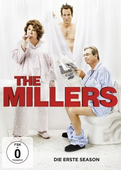 "Das DVD-Cover der ersten Staffel ""The Millers"" (© Paramount Pictures Home Entertainment)"