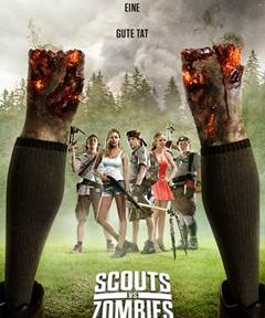 "Das Kinoplakat von ""Scouts vs Zombies"" (© Paramount Pictures)"