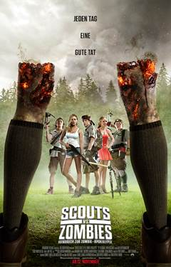 "Das Kinoplakat von ""Scouts vs Zombies"" (© Paramount Pictures)"