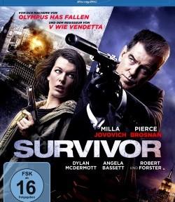 """Das Blu-ray-Cover von """"Survivor"""" (© Universum Film)"""